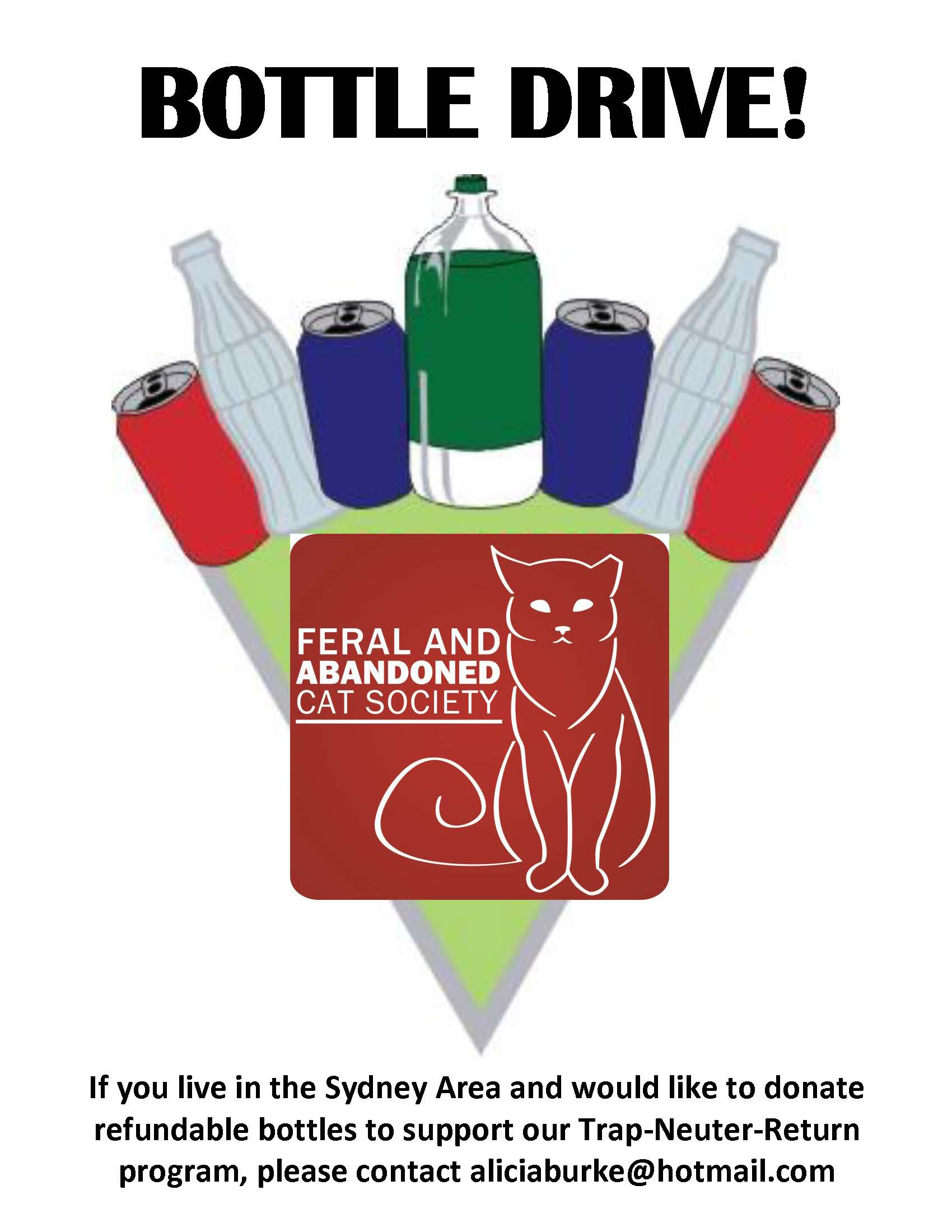 FAACS Year Round Bottle Drive
